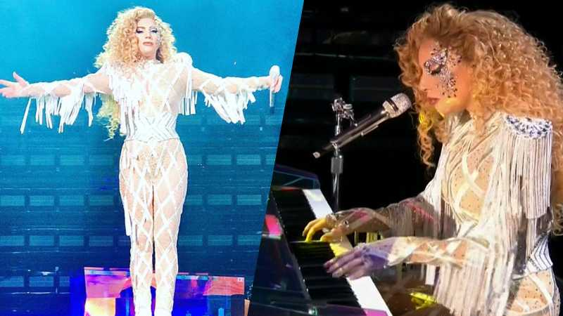 Lady Gaga e la pazzesca performance di The Cure agli American Music Awards (VIDEO).