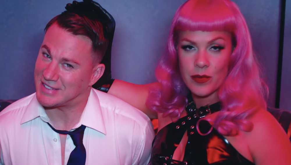 P!nk: ecco Beautiful Trauma, il nuovo video con Channing Tatum (VIDEO)