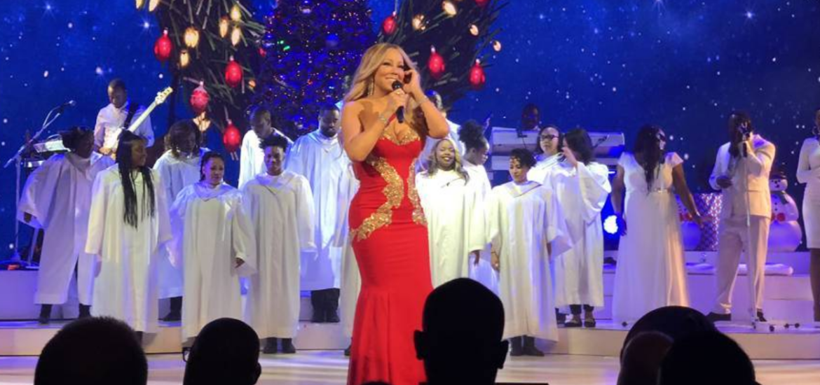 MARIAH CAREY, primo live e diamo il via ufficialmente al Natale (VIDEO)