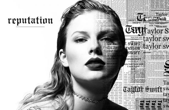 Reputation di Taylor Swift: unico album del 2017 a vendere 1 milione di copie fisiche.