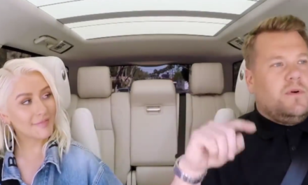 Christina Aguilera show al Carpool Karaoke. (VIDEO)