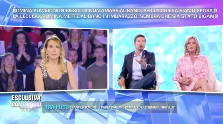 Barbara d'Urso replica al rap di Romina Power ad Amici 17.