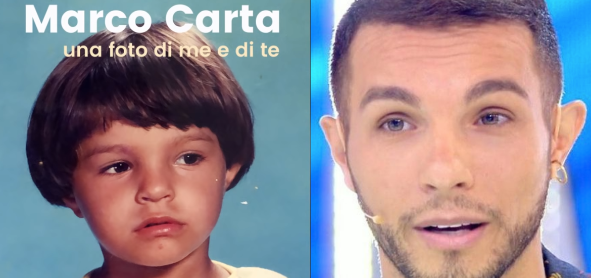 Una foto di te e di me, Marco Carta canta il suo coming out – audio