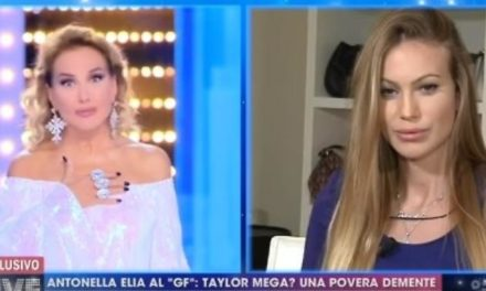 Taylor Mega contro barbara D'Urso: 'Sono allibita!' – VIDEO